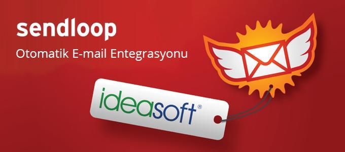IdeaSoft – Sendloop İş Ortaklığı