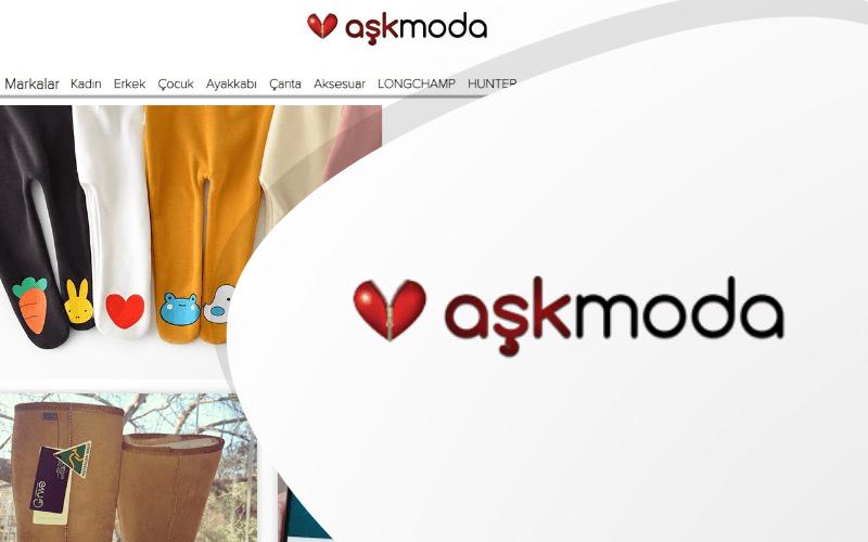 Aşk Moda E-ticaret Sitesi