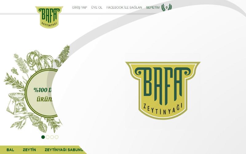 Bafa Tarım E-ticaret Sitesi