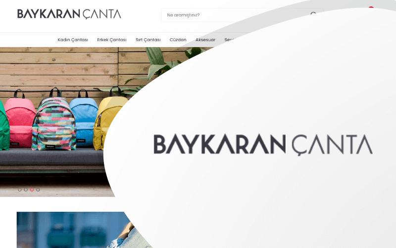 Baykaran Çanta E-ticaret Sitesi