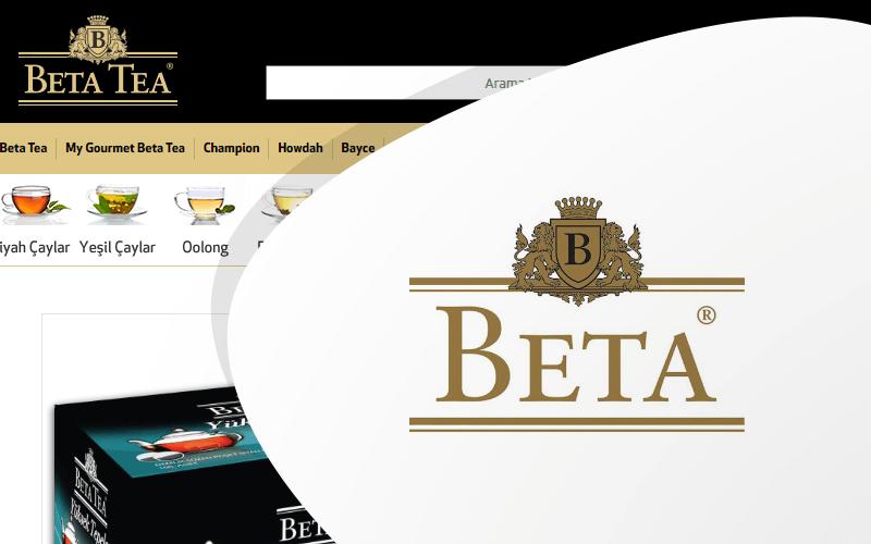 Beta Tea E-ticaret Sitesi