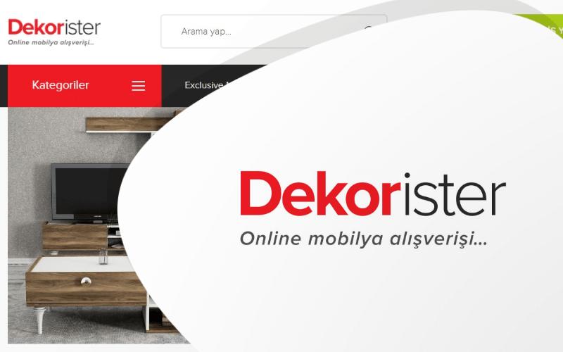 Dekor İster E-ticaret Sitesi