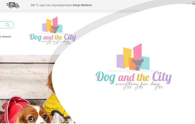 Dog And The City E-ticaret Sitesi