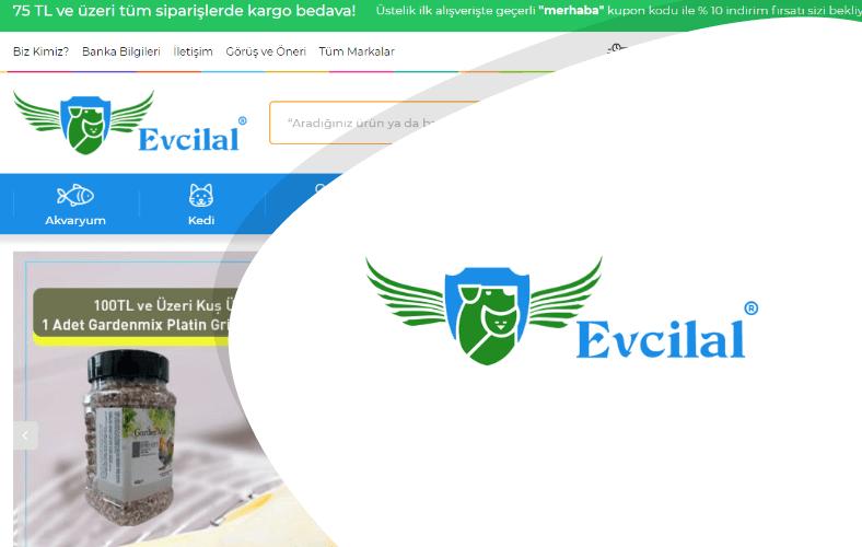 Evcilal E-ticaret Sitesi