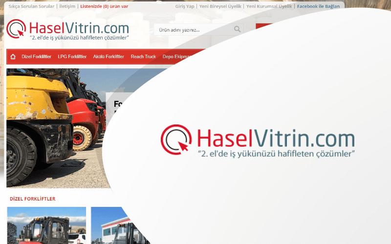 Hasel Vitrin E-ticaret Sitesi