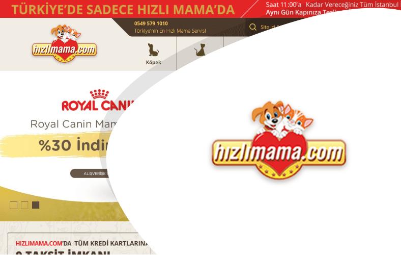 Hızlı Mama E-ticaret Sitesi