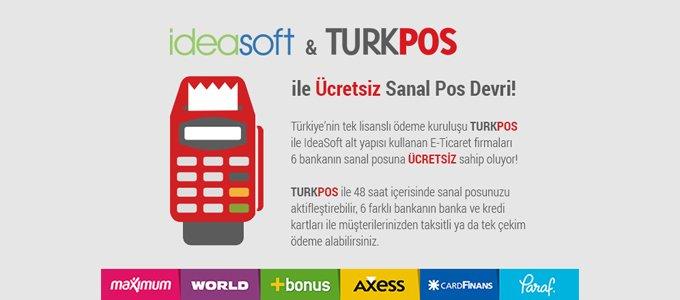 IdeaSoft - TürkPara iş ortaklığı