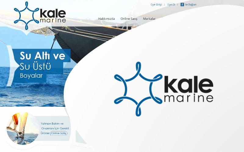 Kale Marine E-ticaret Sitesi