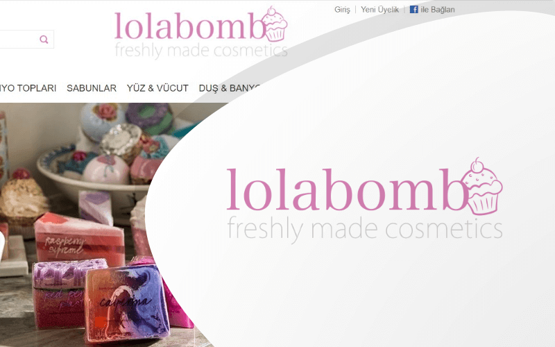 Lolabomb E-ticaret Sitesi