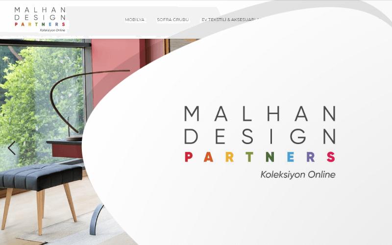 Malhan Partners E-ticaret Sitesi