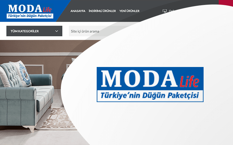 Modalife Mobilya E-ticaret Sitesi