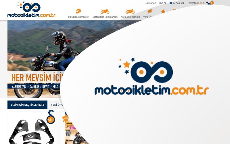 Motosikletim E-ticaret Sitesi
