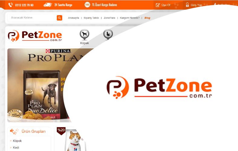 Pet Zone E-ticaret Sitesi