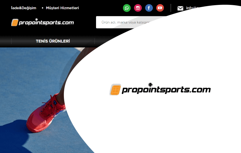 Pro Point Sports E-ticaret Sitesi