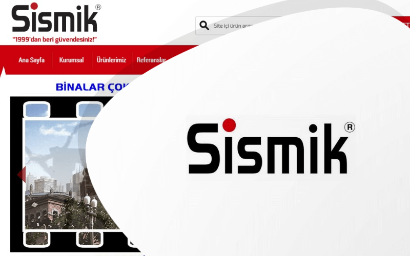 Sismik E-ticaret Sitesi