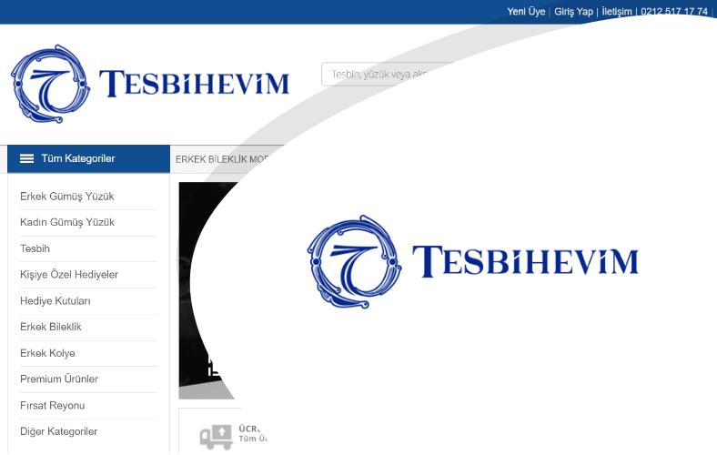 Tesbih Evim E-ticaret Sitesi