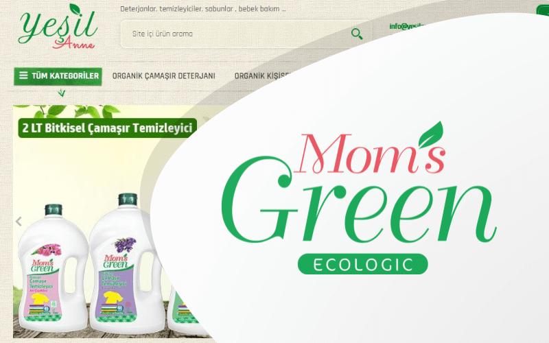 Yeşil Anne E-ticaret Sitesi