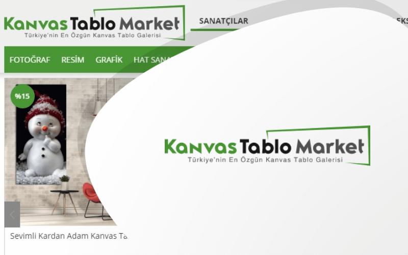 Kanvas Tablo Market E-ticaret Sitesi