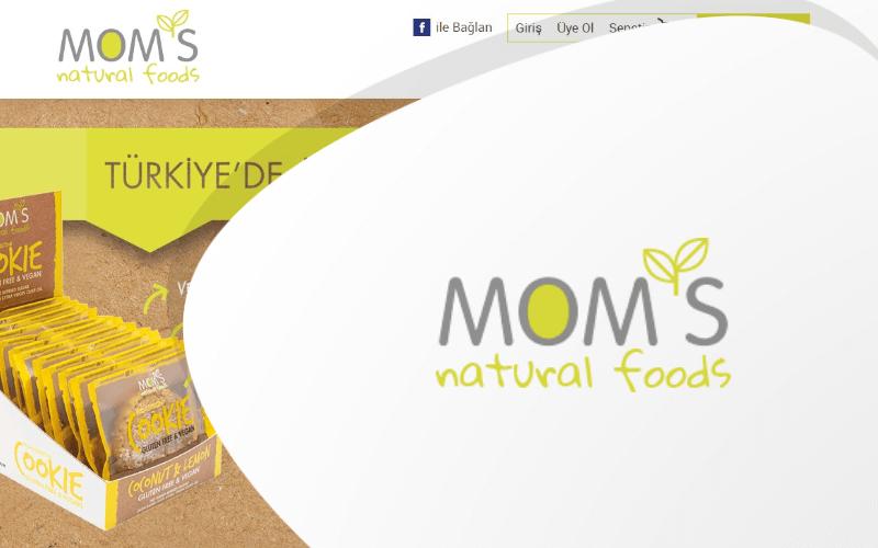 Mom's Natural Foods E-ticaret Sitesi