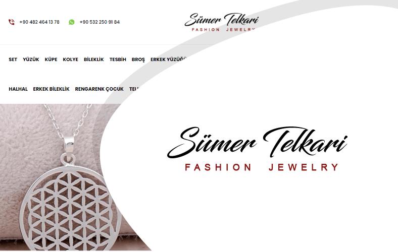 Sümer Telkari E-ticaret Sitesi