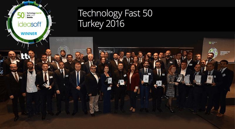 IdeaSoft, üst üste 5. kez Deloitte Teknoloji Fast 50'de!