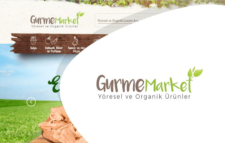 Gurme Market E-ticaret Sitesi