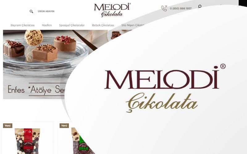Melodi Çikolata E-ticaret Sitesi
