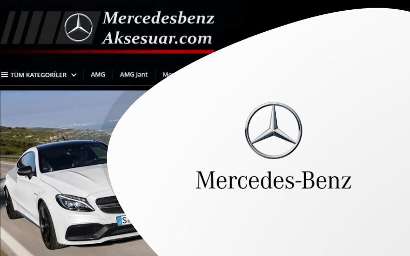 Mercedes Benz Aksesuar E-ticaret Sitesi