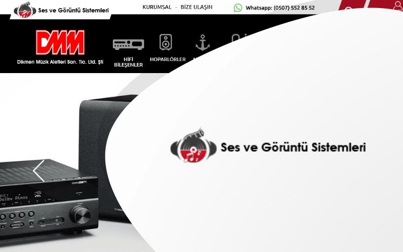 Ses ve Görüntü Sistemleri E-ticaret Sitesi