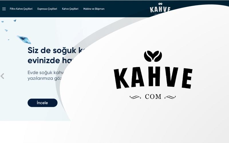 Kahve.com E-ticaret Sitesi