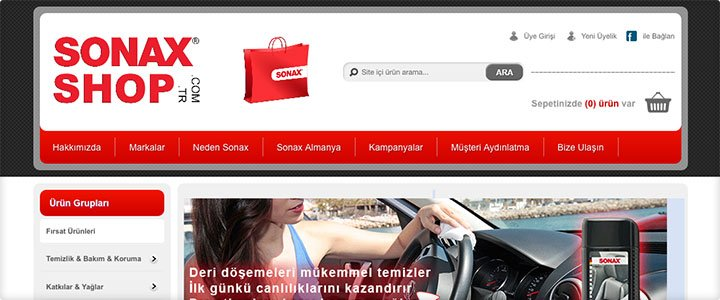 Sonax Shop