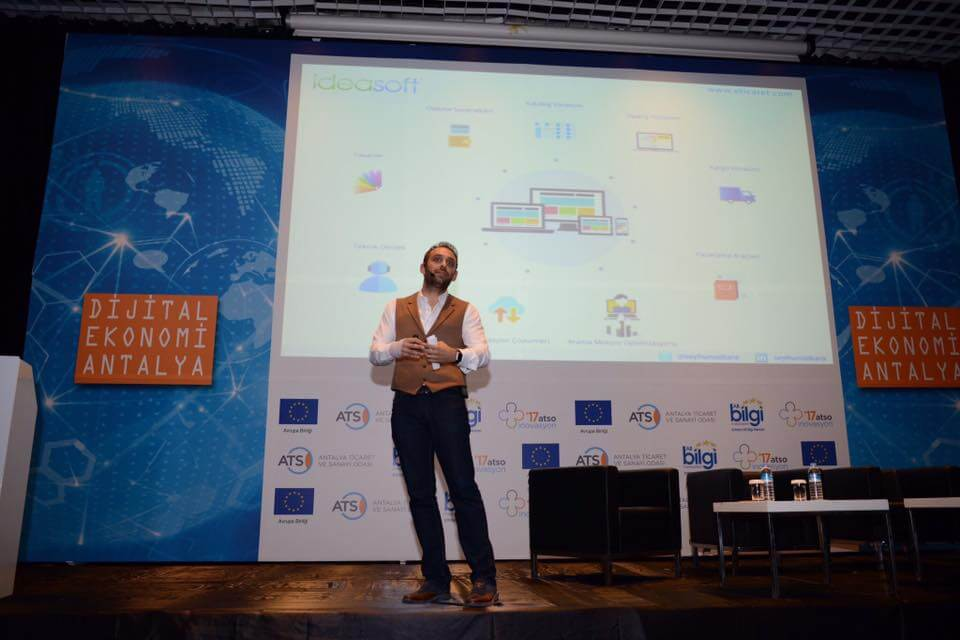 IdeaSoft' un Destek Verdiği ''Dijital Ekonomi Antalya'' Etkinliği Büyük İlgi Gördü