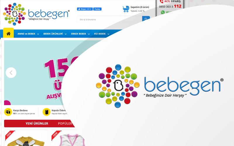 Bebegen E-ticaret Sitesi