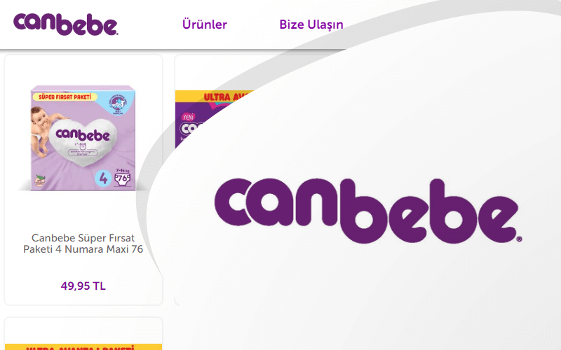Canbebe E-ticaret Sitesi