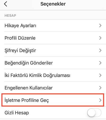 insta-isletme-profili