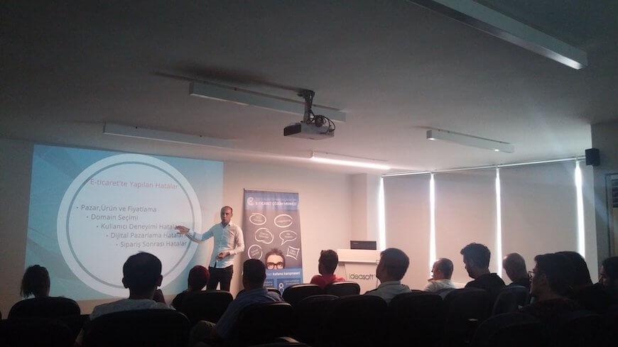 E-ticaret ile Gelir Elde Etmenin Yolları Semineri IdeaSoft Genel Merkezi'nde Yapıldı