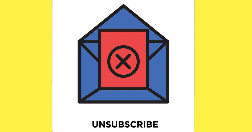 Kullanıcıların e posta abonelikten çıkma sebepleri
