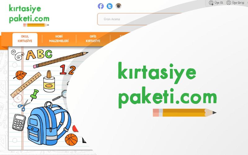 Kırtasiye Paketi E-ticaret Sitesi