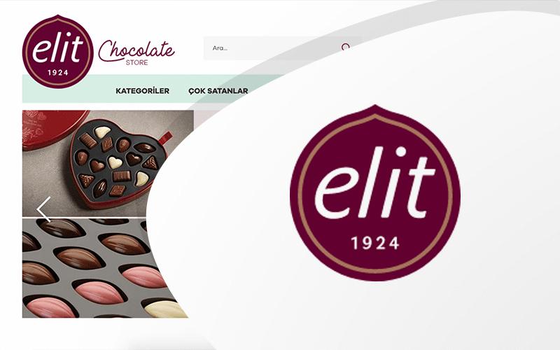 Elit Çikolata E-ticaret Sitesi