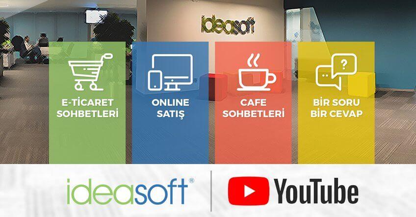 IdeaSoft Youtube sayfamız yeni video içerikleriyle yayında!