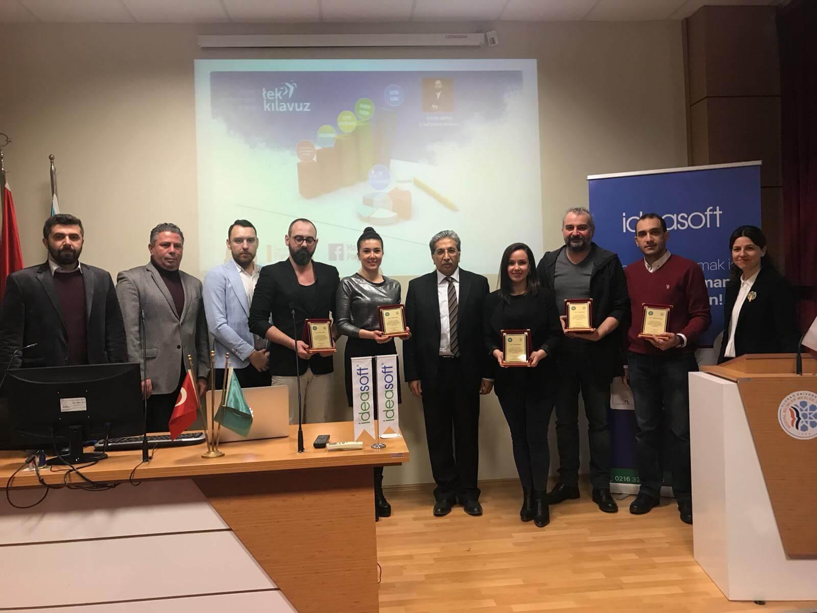 IdeaSoft, 4. E-ticaret eğitimi ile Uludağ Üniversitesi'ndeydi
