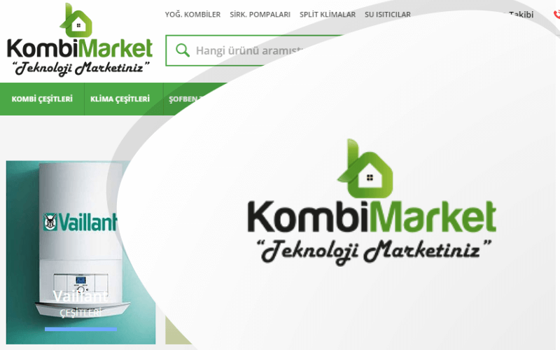 Kombi Market E-ticaret Sitesi