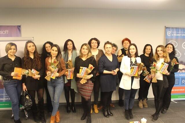 8 Mart Kadın Girişimcileri Destekleme Semineri, IdeaSoft genel merkezinde gerçekleşti