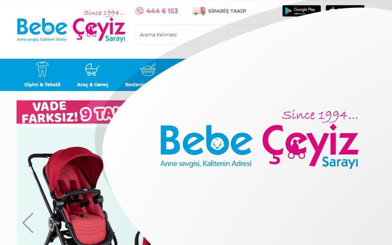 Bebe Çeyiz Sarayı E-ticaret Sitesi