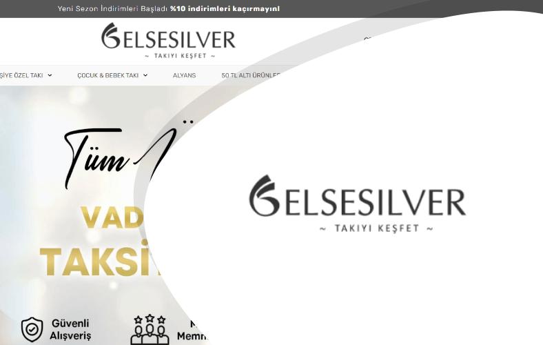 Else Silver E-ticaret Sitesi