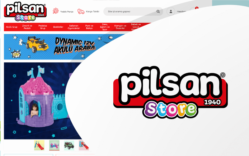 Pilsan E-ticaret Sitesi