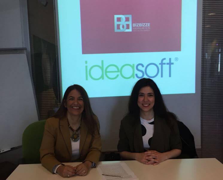 IdeaSoft ve Bizbizze Derneği, kadın girişimcileri destekleme programlarına başlayacak