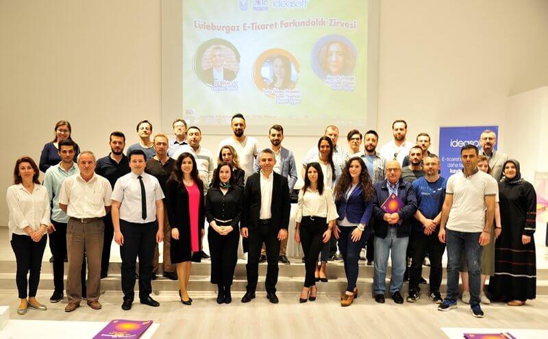 IdeaSoft  E-ticaret Farkındalık Zirvesi ile Lüleburgaz Belediyesi'ndeydi