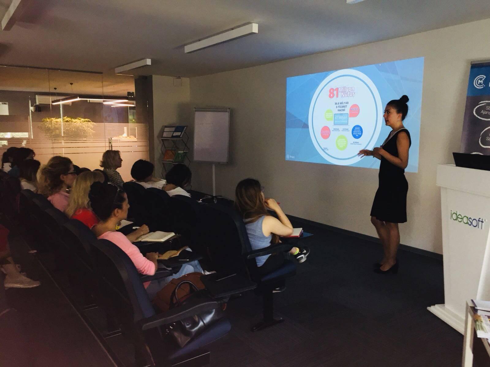 IdeaSoft Kadın Girişimcileri Destekleme Eğitimlerine Devam Ediyor