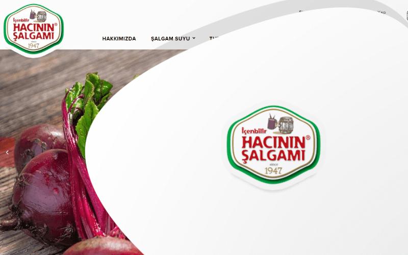 Hacının Şalgamı E-ticaret Sitesi